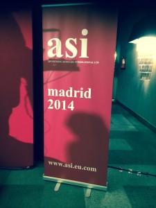 ASI Radio Conference, Madrid, Nov 2014